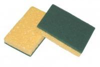 Cellulose sponge with Abrasive fibre