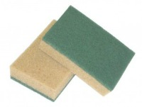 Tobacco sponge with Abrasive fibre
